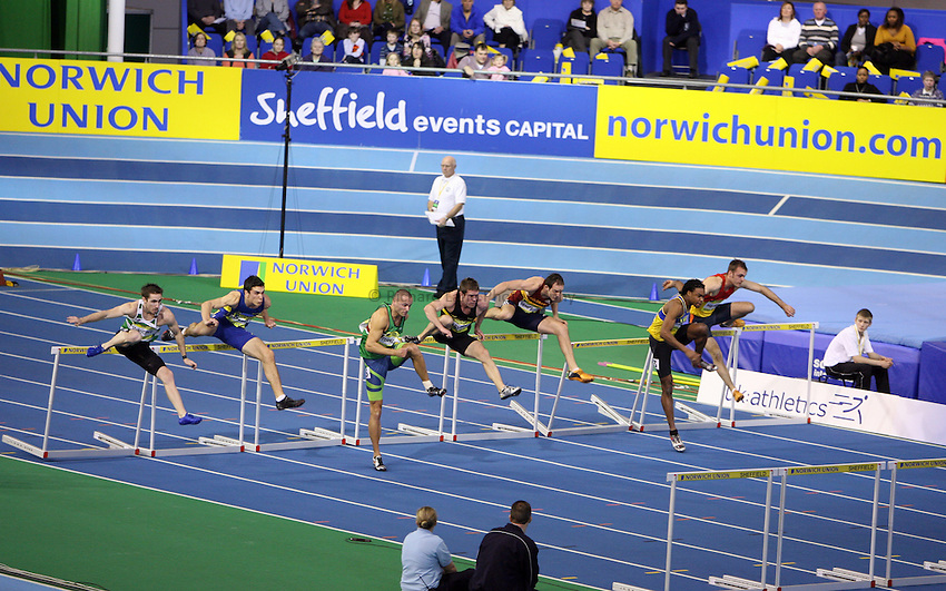 Photo: Rich Eaton...Norwich Union European Indoor Trials and UK Championships, Sheffield. 11/02/2007. ..