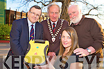 Pictured at the launch of our Public Access Defibrillator Programme for Killarney in the Gleneagle hotel on Tuesday evening were Siobhan Linehan, Dr Eamon Shanahan, Cllr Michael Gleeson, Killarney Mayor, and Brian McCarthy.......