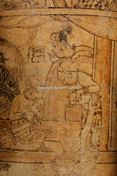 Maya rise and Fall; Princeton Museum; Princeton Vase; Cacao; Ancient Cultures; Maya; Mayan