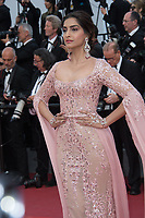 Sonam Kapoor at the premiere for &quot;The Meyerowitz Stories&quot; at the 70th Festival de Cannes, Cannes, France. 21 May  2017<br /> Picture: Paul Smith/Featureflash/SilverHub 0208 004 5359 sales@silverhubmedia.com