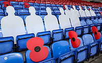 Remembrance Service<br /> <br /> Photographer Andrew Kearns/CameraSport<br /> <br /> The EFL Sky Bet Championship - Bolton Wanderers v Swansea City - Saturday 10th November 2018 - University of Bolton Stadium - Bolton<br /> <br /> World Copyright © 2018 CameraSport. All rights reserved. 43 Linden Ave. Countesthorpe. Leicester. England. LE8 5PG - Tel: +44 (0) 116 277 4147 - admin@camerasport.com - www.camerasport.com