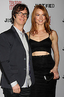 """Ben Folds, Alicia Witt<br /> at the """"Justified"""" Premiere Screening, Directors Guild of America, Los Angeles, CA 01-06-14<br /> David Edwards/DailyCeleb.Com 818-249-4998"""