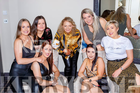 Ciara O'Carroll, Ballaugh Killarney celebrated her birthday for only the 7th time on her birth day February 29th in Lord Kenmares Restaurant  front row l-r: Brid O'Connor, Catriona O'Connell, Catriona Carroll. Back row: Eileen O'Connor, Laura Murphy and Brid Kennedy