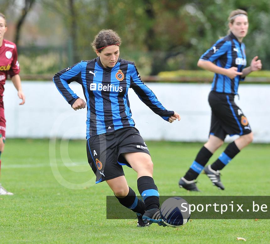 Club Brugge Dames : Jasmine Vanysacker.foto DAVID CATRY / Vrouwenteam.be
