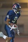 Lawndale, CA 10/21/11 - Courtney Crockett (Leuzinger #9) in action during the Peninsula - Leuzinger varsity football game.