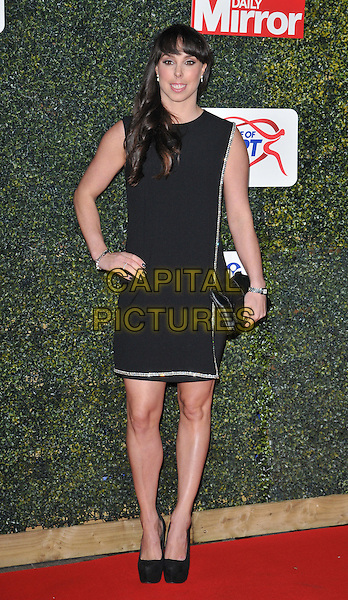 Beth Tweddle attends the Daily Mirror Pride of Sport Awards 2015, Grosvenor House Hotel, Park Lane, London, England, UK, on Wednesday 25 November 2015. <br /> CAP/CAN<br /> &copy;Can Nguyen/Capital Pictures