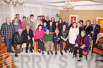 Patrick Kelly(front fourth from the left) from Aghatubrid celebrated his 80th birthday with family and friends at the Ring of Kerry Hotel, Cahersiveen on Saturday night.