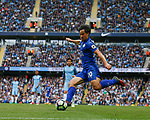 Shinji Okazaki of Leicester City during the English Premier League match at the Etihad Stadium, Manchester. Picture date: May 13th 2017. Pic credit should read: Simon Bellis/Sportimage