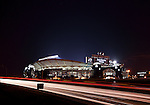 Charlotte NC - Panthers Stadium in uptown long expsure