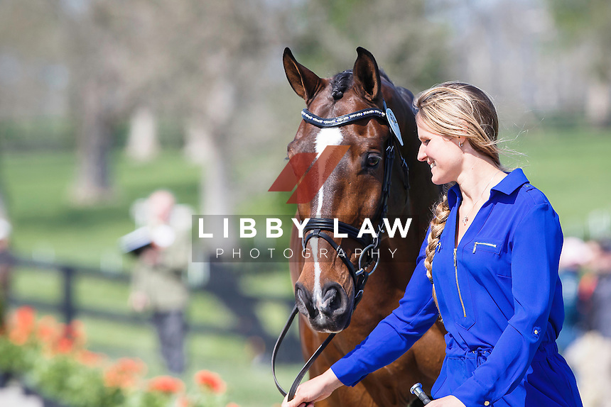 USA-Jordan Linstedt (REVITAVET CAPATO) THE JOG: 2015 USA-Rolex Kentucky Three Day Event CCI4* (Wednesday 22 April) CREDIT: Libby Law COPYRIGHT: LIBBY LAW PHOTOGRAPHY