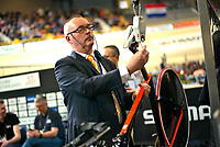 Picture by Charlie Forgham-Bailey/SWpix.com - 02/03/2018 - 2018 UCI Track Cycling World Championships, Apeldoorn,The Netherlands, Day 3 - Track centre activity/bike porn