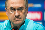 Korea Republic manager Uli Stielike of Germany attends a press conference prior to their 2018 FIFA World Cup Russia Asian Qualifiers Final Qualification Round Group A match against Uzbekistan at the Paju National Football Center on 14 November 2016, outskirts of Seoul, South Korea. Photo by Victor Fraile / Power Sport Images