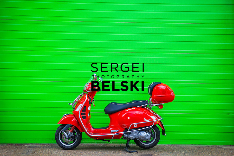 My Vespa Adventures Scooter Club Ride. Photo Credit: Sergei Belski
