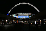 A general view of Wembley during the Champions League group E match at the Wembley Stadium, London. Picture date November 2nd, 2016 Pic David Klein/Sportimage