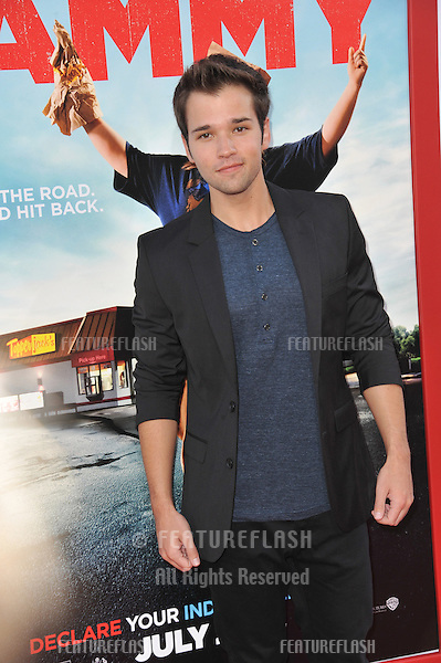 Nathan Kress at the premiere of &quot;Tammy&quot; at the TCL Chinese Theatre, Hollywood.<br /> June 30, 2014  Los Angeles, CA<br /> Picture: Paul Smith / Featureflash