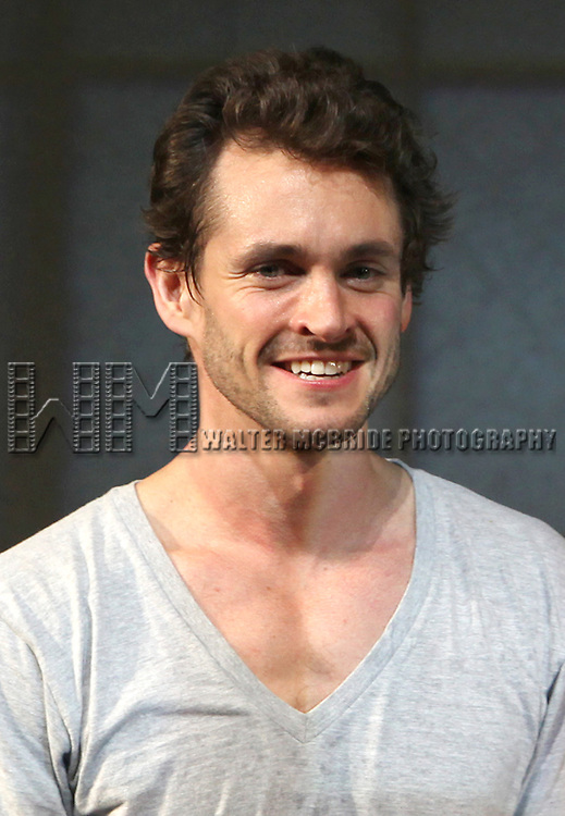 Hugh Dancy.during the Opening Night Performance Curtain Call for  the Manhattan Theatre Club's Production of 'Venus In Fur' at the Samuel J. Friedman Theatre in New York City.