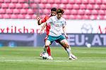 Yuya Osako (Werder Bremen #08), Jeremiah St. Juste (FSV Mainz 05 #04)<br /> <br /> <br /> Sport: nphgm001: Fussball: 1. Bundesliga: Saison 19/20: 33. Spieltag: 1. FSV Mainz 05 vs SV Werder Bremen 20.06.2020<br /> <br /> Foto: gumzmedia/nordphoto/POOL <br /> <br /> DFL regulations prohibit any use of photographs as image sequences and/or quasi-video.<br /> EDITORIAL USE ONLY<br /> National and international News-Agencies OUT.