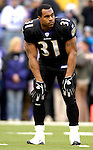 31 December 2006: Baltimore Ravens running back Jamal Lewis warms up prior to a game against the Buffalo Bills at M&T Bank Stadium in Baltimore, Maryland. The Ravens defeated the Bills 19-7. Mandatory Photo Credit: Ed Wolfstein Photo.<br />