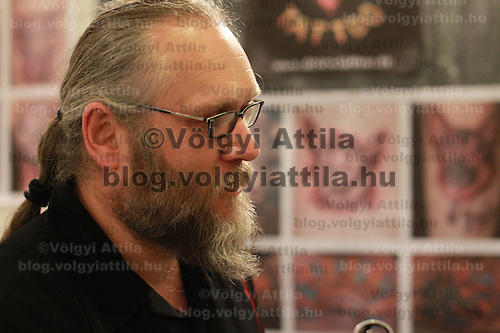International tattoo exhibition in Budapest, Hungary on February 26, 2012. ATTILA VOLGYI