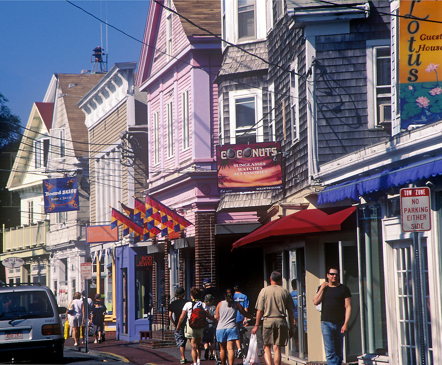 Commerce Street, Provincetown, Cape Cod, MA<br />