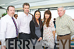 Pictured at the Launch of the Irish Academy of Hospitality and Tourism in the IT, Tralee on Friday, from left: Eoghan O'Donnell (manager of FAS training centre), Tony Murphy (IT Tralee), Danielle Favier (Failte Ireland), Aisling Sharkey (IT Tralee) and Frank Heffernan (Dept of Social Protection)..