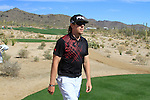 Hunter Mahan (USA) walks to the 13th tee during Day 3 of the Accenture Match Play Championship from The Ritz-Carlton Golf Club, Dove Mountain, Friday 25th February 2011. (Photo Eoin Clarke/golffile.ie)