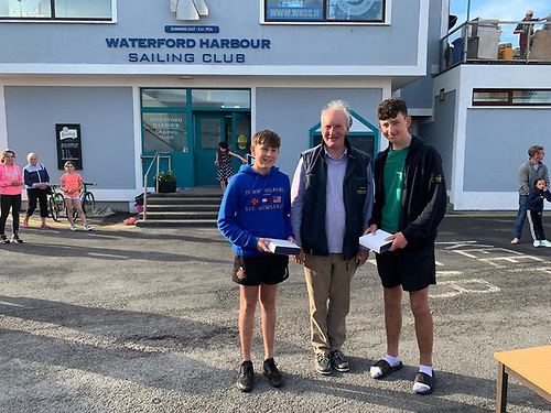 3rd Place Silver - Max Passberger and Jack Maree Waterford Harbour Sailing Club