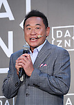 September 12, 2016, Tokyo, Japan - Japanese football commentator Yasutaro matsuki attends the promotion event of British sports live streaming service DAZN in Tokyo on Monday, September 12, 2016. DAZN started the service in Japan from last month.    (Photo by Yoshio Tsunoda/AFLO) LWX -ytd-
