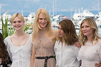 Elle Fanning, Nicole Kidman, Sofia Coppola &amp; Kirsten Dunst at the photocall for &quot;The Beguiled&quot; at the 70th Festival de Cannes, Cannes, France. 24 May 2017<br /> Picture: Paul Smith/Featureflash/SilverHub 0208 004 5359 sales@silverhubmedia.com