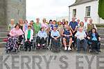 MS Society:: The Listowel-North Kerry Branch of the MS Society on their annual outing  where they attende mass in SRt> Mary's Church , Listowel and dinner afterwards at The Seanachi Centre in Listowel on Friday last.