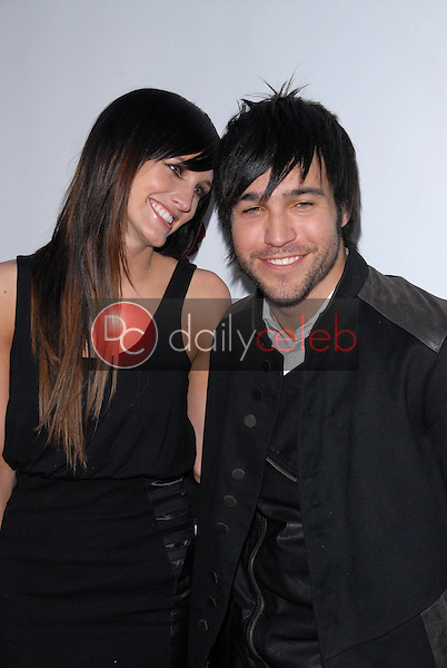Ashlee Simpson-Wentz and Pete Wentz<br />