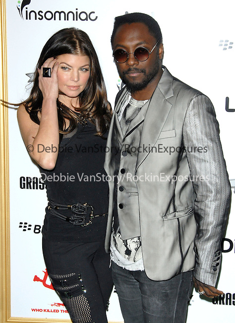 Fergie & Will.i.am of The Black Eyed Peas at The First Annual Data Awards, presented by will.i.am, The Black Eyed Peas & Dipdive held at The Hollywood Palladium in Hollywood, California on January 28,2010                                                                   Copyright 2009  DVS / RockinExposures