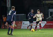 2nd December 2017, Global Energy Stadium, Dingwall, Scotland; Scottish Premiership football, Ross County versus Dundee; Dundee's Scott Allan