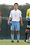 31 August 2008: UNC's Michael Callahan. The University of North Carolina Tar Heels defeated the Virginia Commonwealth University Rams 1-0 in overtime at Fetzer Field in Chapel Hill, North Carolina in an NCAA Division I Men's college soccer game.