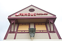 A Famous footwear Outlet store is pictured at the Settlers' Green Outlet Village in North Conway, New Hampshire Thursday June 13, 2013.