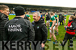 Kerry Manager Peter Keane after the Allianz Football League Division 1 Round 5 match between Kerry and Monaghan at Fitzgerald Stadium in Killarney, on Sunday.
