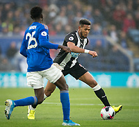 Joelinton of Newcastle United during the Premier League match between Leicester City and Newcastle United at the King Power Stadium, Leicester, England on 29 September 2019. Photo by Andy Rowland.