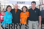 Ballybunion Road Race : Pictured at the start of the annual Ballybunion 10K & half marathon race held in Ballybunion on Saturday were members of the organising committee  Rose & Pat Tracey & Jean & John O'Connor.
