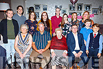 Peggy Kelliher from Cork celebrating her 90th birthday in the Rose Hotel on Saturday night.  <br /> Seated l-r, Noreen, Donal, Peggy and Paul Kelliher.<br /> Back l-r, Sean Bray, Patrick, Louise and Aisling Kelliher, Tony O&rsquo;Donoghue, Klara, Geraldine, Catherine, Emmet and Darragh Kelliher.