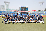 Edogawa Chuo senior team group, AUGUST 4, 2015 - Baseball : All Japan Little-Senior Baseball Championship final match between Omiya senior 7-3 Edogawa Chuo senior at Jingu stadium in Tokyo, Japan. (Photo by Yusuke Nakanishi/AFLO SPORT)