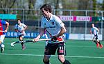 AMSTELVEEN - Fergus Kavanagh (Adam)  tijdens  de hoofdklasse competitiewedstrijd hockey heren,  Amsterdam-SCHC (3-1).  COPYRIGHT KOEN SUYK