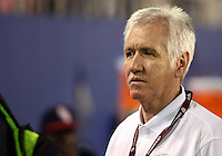 BOCA RATON, FL - DECEMBER 15, 2012: Tom Sermanni new coach of the USA  during an international friendly match at FAU Stadium, in Boca Raton, Florida, on Saturday, December 15, 2012. USA won 4-1.