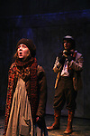 """Isabella Convertino & Zach Fineblum """"Dickon"""" Martha's son as Philipstown Depot Theatre presents The Secret Garden on November 15, 2009 in Garrison, New York. The musical The Secret Garden is the story of """"Mary Lennox"""", a rich spoiled child who finds herself suddenly an orphan when cholera wipes out the entire Indian village where she was living with her parents. She is sent to live in England with her only surviving relative, an uncle who has lived an unhappy life since the death of his wife 10 years ago. """"Archibald's son Colin"""", has been ignored by his father who sees Colin only as the cause of his wife's death.This is essentially the story of three lost, unhappy souls who, together, learn how to live again while bringing Colin's mother's garden back to life. (Photo by Sue Coflin/Max Photos)........"""