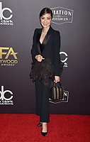 BEVERLY HILLS, CA - NOVEMBER 04: Michelle Yeoh  arrives at the 22nd Annual Hollywood Film Awards at the Beverly Hilton Hotel on November 4, 2018 in Beverly Hills, California.<br /> CAP/ROT/TM<br /> &copy;TM/ROT/Capital Pictures