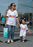 Tottenham fans ahead of the Premier League match between Tottenham Hotspur and Crystal Palace at Wembley Stadium, London, England on 14 September 2019. Photo by Vince  Mignott / PRiME Media Images.