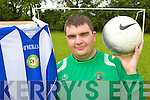Castleisland and Kerry Stars soccer player Gary O'Sullivan who has been selected on the Munster Special Olympics team for their upcoming All Ireland tournament