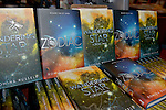 Coral Gables, FL - JULY 17: General view of books on display during author Romina Russell real name Romina Garber discuss and sign copies of her new book ' Wandering Star: A Zodiac Novel ' at Books and Books on July 17, 2016 in Coral Gables, Florida.  ( Photo by Johnny Louis / jlnphotography.com )