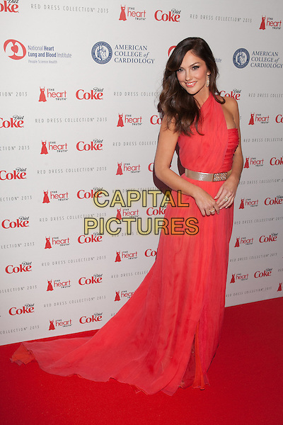 NEW YORK, NY - FEBRUARY 6: Minka Kelly in Oscar de la Renta  attends The Heart Truth Red Dress Collection 2013 Fashion Show on February 6, 2013 in New York City. <br /> CAP/MPI/MPI99<br /> &copy;MPI99/MPI/Capital Pictures
