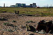 Dungeness Beach with Nuclear Power Station
