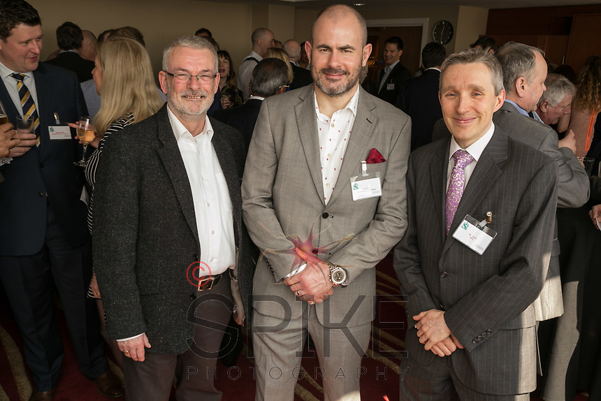 Pictured from left are Mike Butler of Thompson Butler Associates, Simon Gray of  Pembridge Gray and Ben Jeays of 4NG